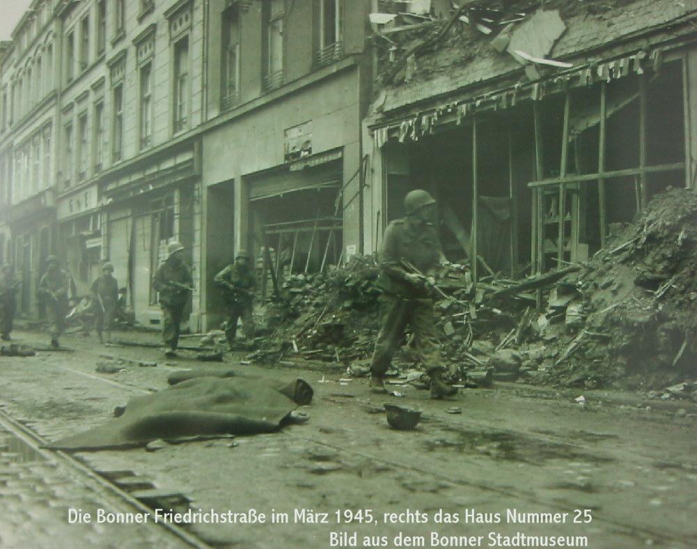 Bonn Friedrichstra 223 E 1945